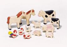 Bauernhohof Tiere-Set