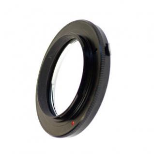 Adapter Nikon F Objektive an Olympus 4/3 E-Kameras