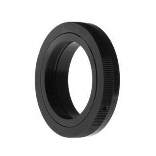 T2-Gewinde Adapter auf Canon EOS Kameras
