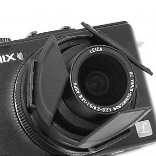 Objektivdeckel Automatik für Panasonic DMC-LX3 sw