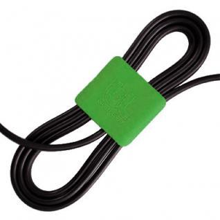BlueLounge CableClips Small 3x grün, 3x dunkelgrau - Vorschau 1