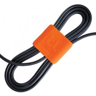 BlueLounge CableClips Medium 2x orange 2x dkgrau Ka