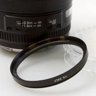 Delamax 8x Stern Effektfilter 58mm - Vorschau