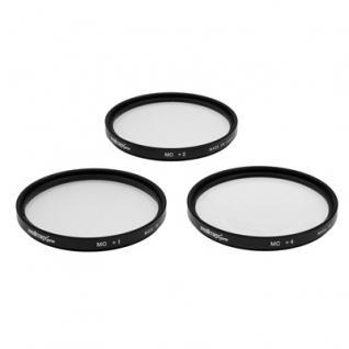 CloseUp-Set MC 55mm Nahlinsen-Set +1+2+4 - Vorschau 1