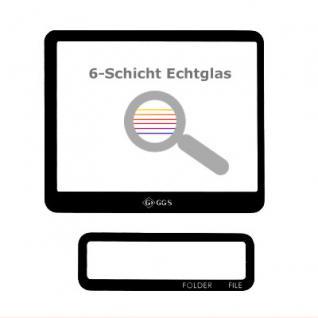 Displayschutz Echtglas für Canon EOS 1D Mark IV