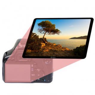 Displayschutz Echtglas Sony CyberShot DSC-HX1 - Vorschau 2