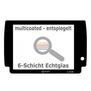 Displayschutz Echtglas Sony Alpha A390