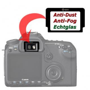 Sucherschutz Echtglas f. Canon EB 5D 50D 40D 30D 5D