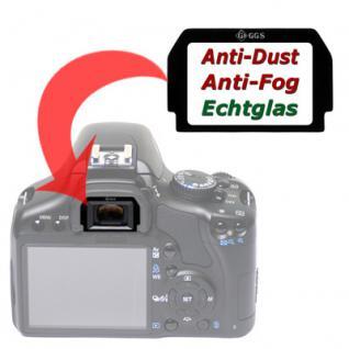 Sucherschutz Echtglas f. Canon EF 1000D 500D 450D 1 - Vorschau