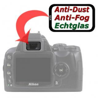 Sucherschutz Echtglas f. Nikon D5000 D80 D90 D300s