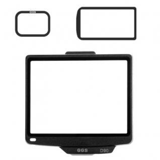 Displayschutz III. Gen. Echtglas für Nikon D90