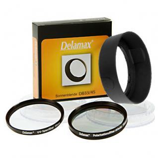 SET für Nikon AF-S 18-55mm - HB-45 + UV + Pol 52mm