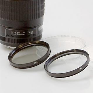 SET für Nikon AF-S 18-55mm - HB-45 + UV + Pol 52mm - Vorschau 3