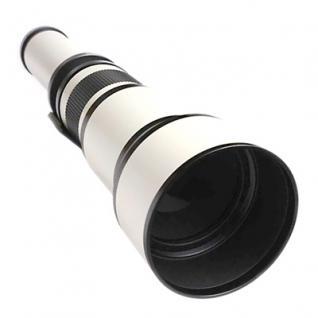 Teleobjektiv 650-1300mm f8-16 für Canon EOS Linsen-