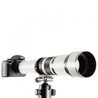 Teleobjektiv 650-1300mm f8-16 für Nikon F/AF/AI Lin - Vorschau 3