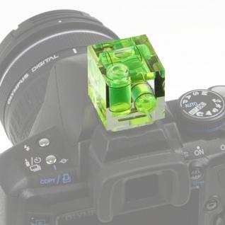 Delamax Kamera-Wasserwaage mit 3 Libellen Höchste Q - Vorschau 2