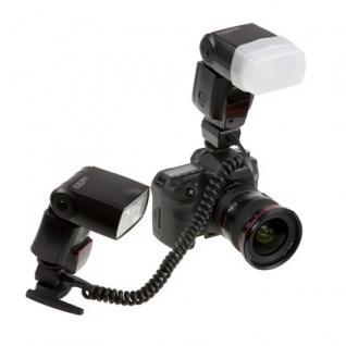 Duo TTL-Blitzkabel für 1 o. 2 Blitzgeräte 40-60cm f - Vorschau 3