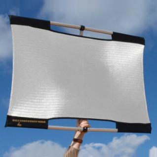 SUN-BOUNCE Micro-Mini KIT 60x90cm silber/weiß M10 P