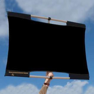 SUN-BOUNCE Micro-Mini KIT 60x90cm schwarz/grau M40