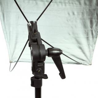 Delamax SET Reflektor Panel 120x60 go/si + Stativ m - Vorschau 4
