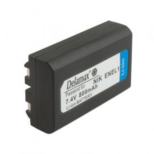 Delamax Akku für Nikon CoolPix wie EN-EL1