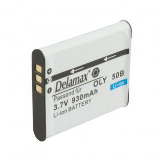 Delamax Akku für Olympus wie Li-50B