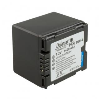 Delamax Akku für Panasonic wie CGA-DU14/VBD140