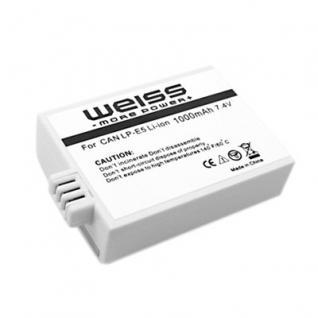 WEISS Akku LP-E5 wie Canon LP-E5