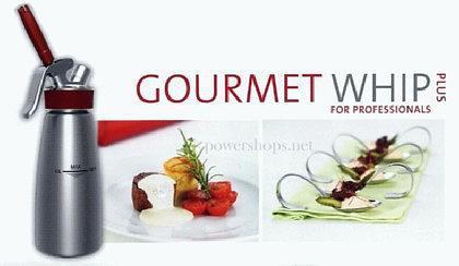 iSi Gourmet Whip PLUS Sahnespender matt