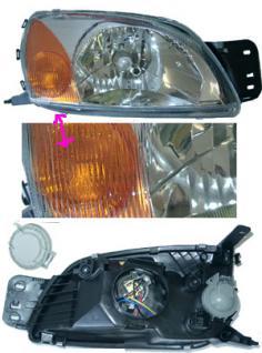 SCHEINWERFER Motor MAZDA 121 Ford Fiesta - Vorschau 1