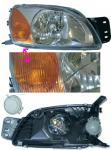 SCHEINWERFER Motor MAZDA 121 Ford Fiesta