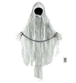 Gesichtsloser GEIST Tod Hängefigur Deko Halloween Horror