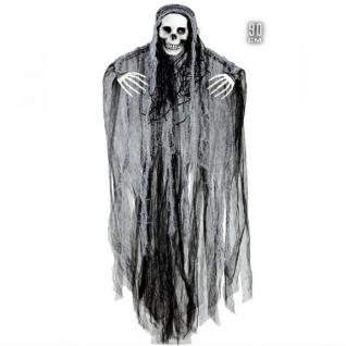 SENSENMANN Hängefigur Deko Halloween Tod Horror Grusel Party Dekoration