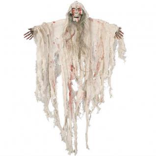 GEISTER HÄNGEFIGUR 90cm Halloween Deko Tod Horror