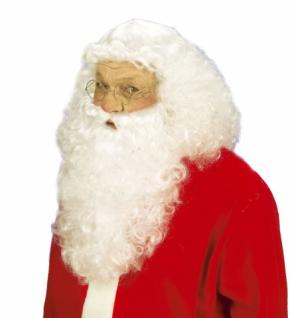 Qualitäts Weihnachtsmann Nikolaus Perücke mit Bart