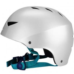 SKATER Helm Silber BMX- und Skaterhelm Freestyle Fahrradhelm Gr 48 - 61 cm
