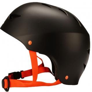 SKATER Helm schwarz BMX- und Skaterhelm Freestyle Fahrradhelm Gr 48 - 61 cm