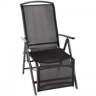 relaxsessel relaxliege mexiko relax liegestuhl gartenstuhl klappstuhl schwarz kaufen bei. Black Bedroom Furniture Sets. Home Design Ideas
