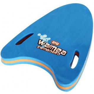 Schwimmbrett mit Handgriffen blau Schwimmtraining Lernhilfe Kinder 15-30 kg