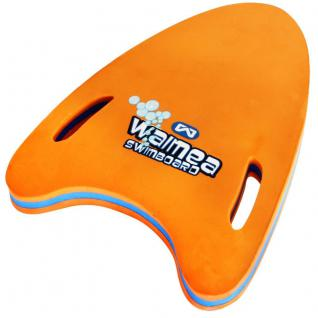 Schwimmbrett mit Handgriffen orange Schwimmtraining Lernhilfe Kinder 15-30 kg