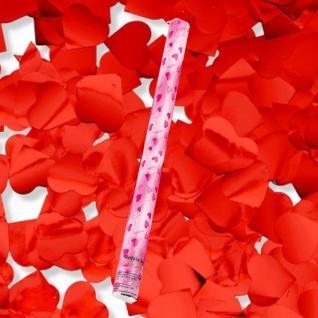 12 Stück Herz Konfetti Shooter