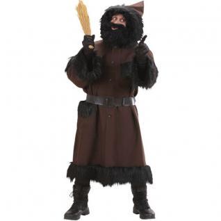 Knecht Ruprecht Kostüm de Luxe Mit Perücke und Bart XL 56/58
