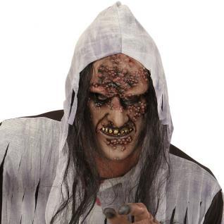 Horror Maske Zombie Mit Haar