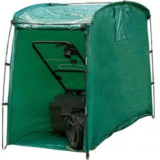Rasenmähergarage Schutzhaube für Rasenmäher Zelt Schutz Hüll