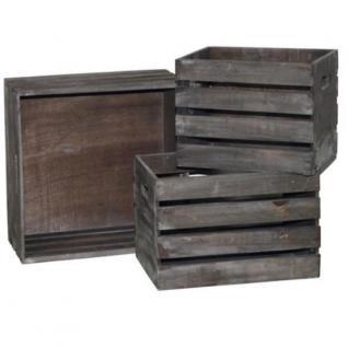 holzkisten 3er set wei deko kisten weinkisten rustikale aufbewahrungskisten kaufen bei. Black Bedroom Furniture Sets. Home Design Ideas
