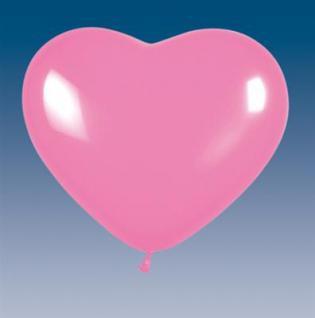 5 Herz Rosa Luftballons Hochzeit Liebe Party Geburtstag Deko Helium