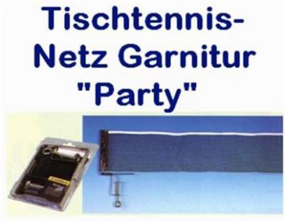 Donic Schildkröt Tischtennis Netz-Garnitur Party
