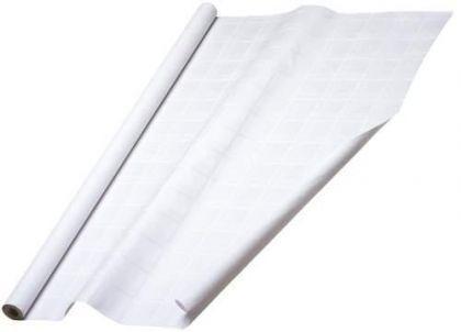Tischtuchpapier Weiß zweiseitig bedruckt Damast