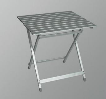Aluminium Gartentisch Campingtisch 60x70x68cm