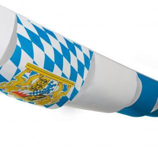 10 Meter Maxi Partyhimmel Bayern Festzelt Deko Oktoberfest B. 60x90cm